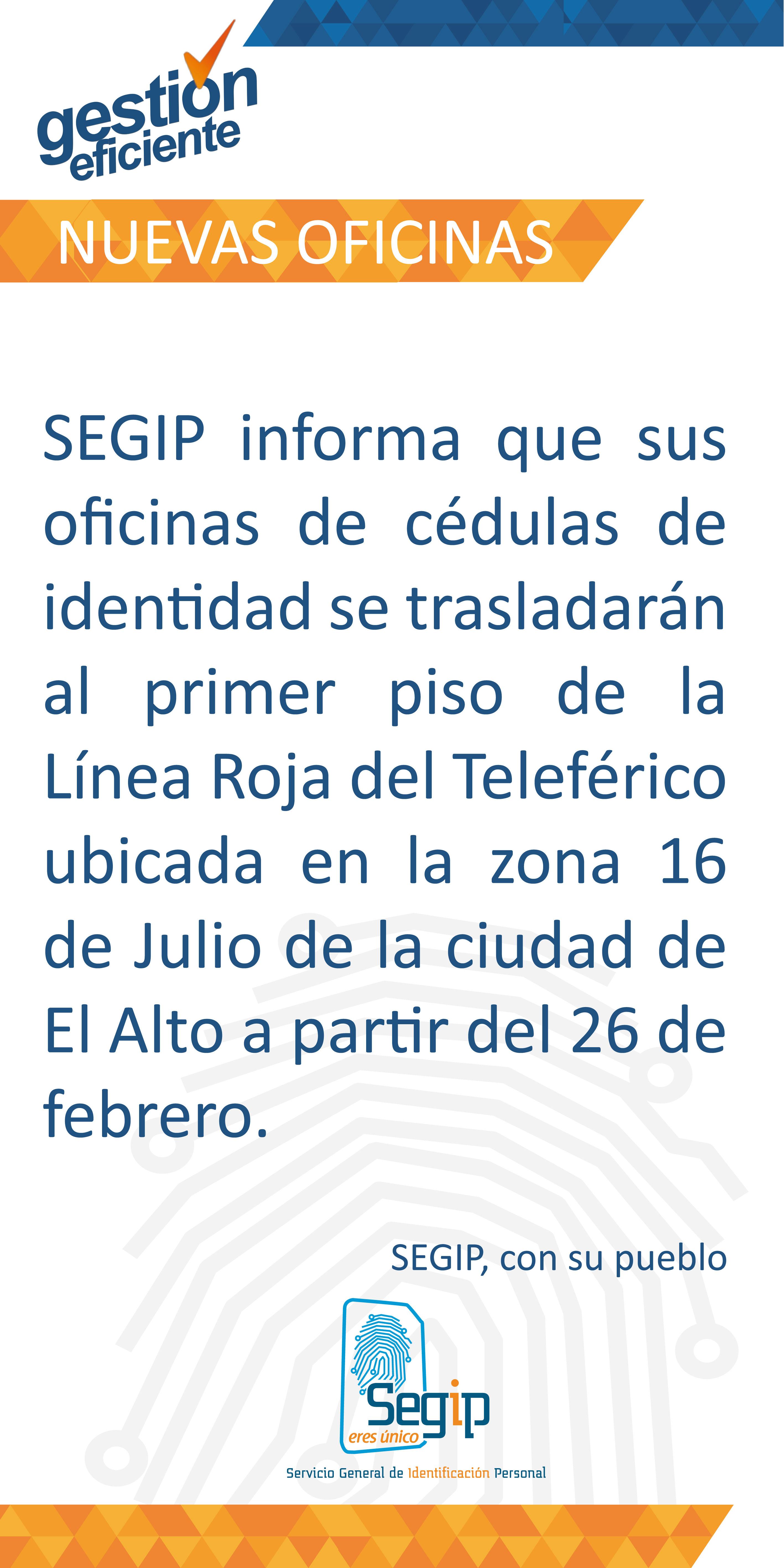 La oficina de la Ceja de El Alto cambia de dirección